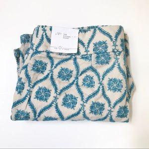 ** Loft ** linen embroidered NWT Riviera shorts